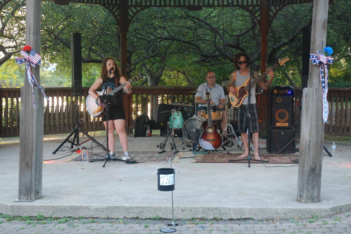 Sandy Stones Trio - June 30 (McGowan Park)