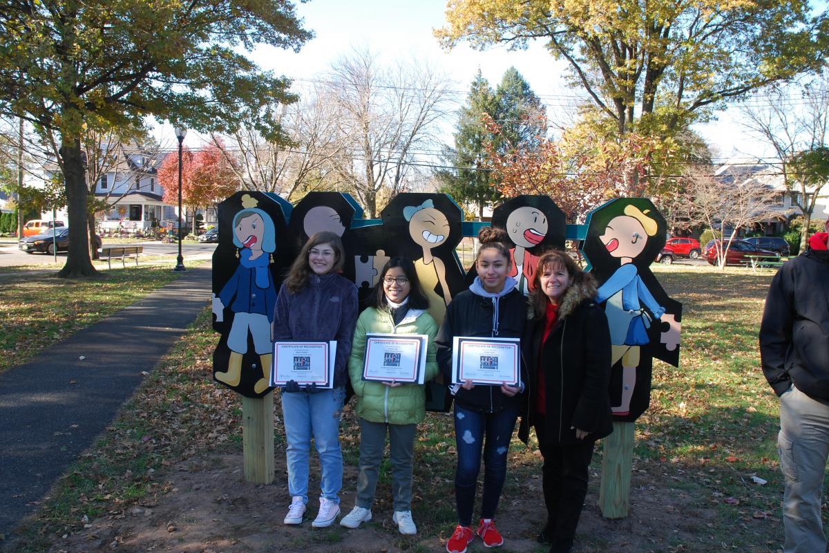 Puzzle People - Fellowship Park - November 2019