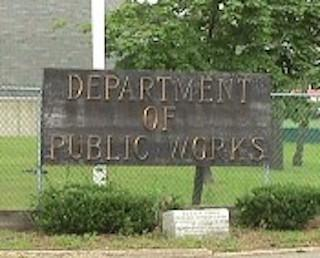 Department of Public Works Sign